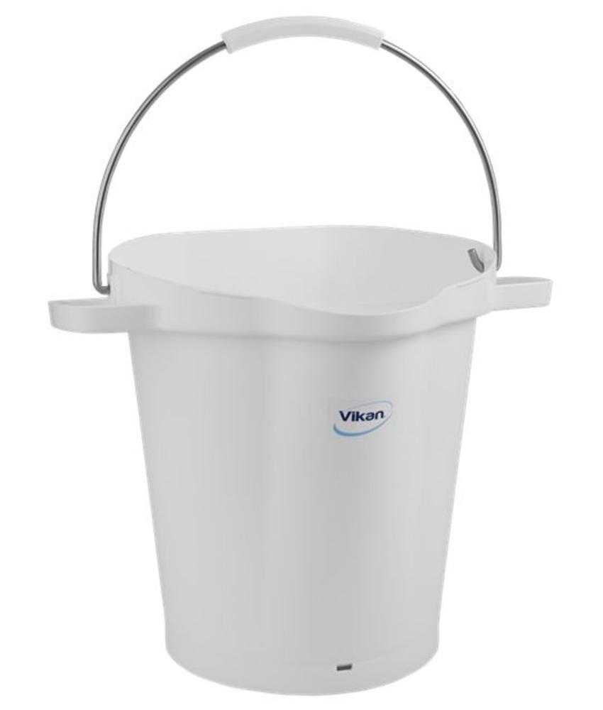 Vikan, Emmer 20 liter, wit