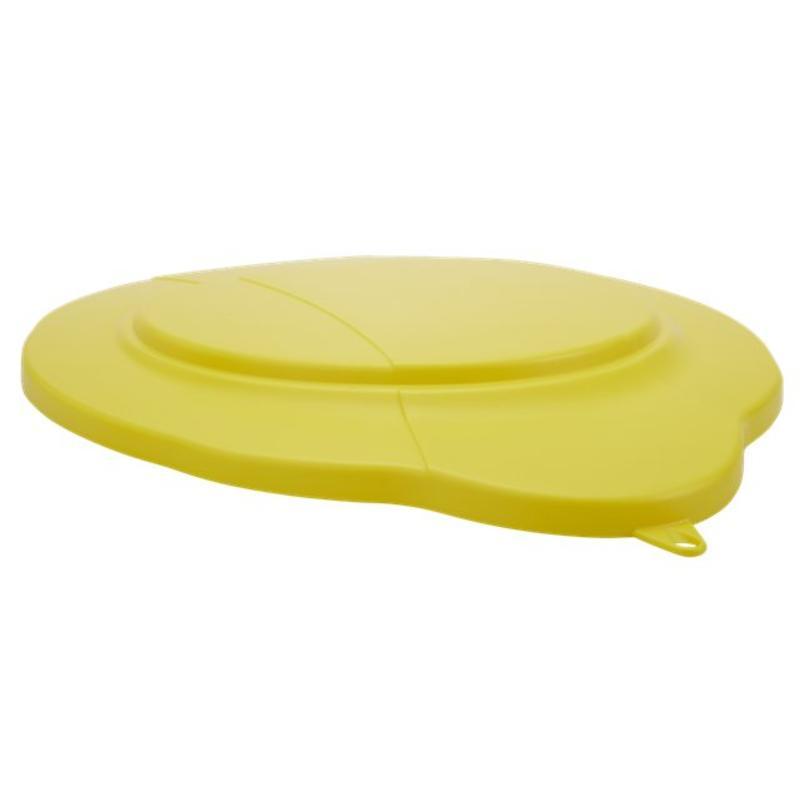 Vikan, deksel voor 20 liter emmer, geel