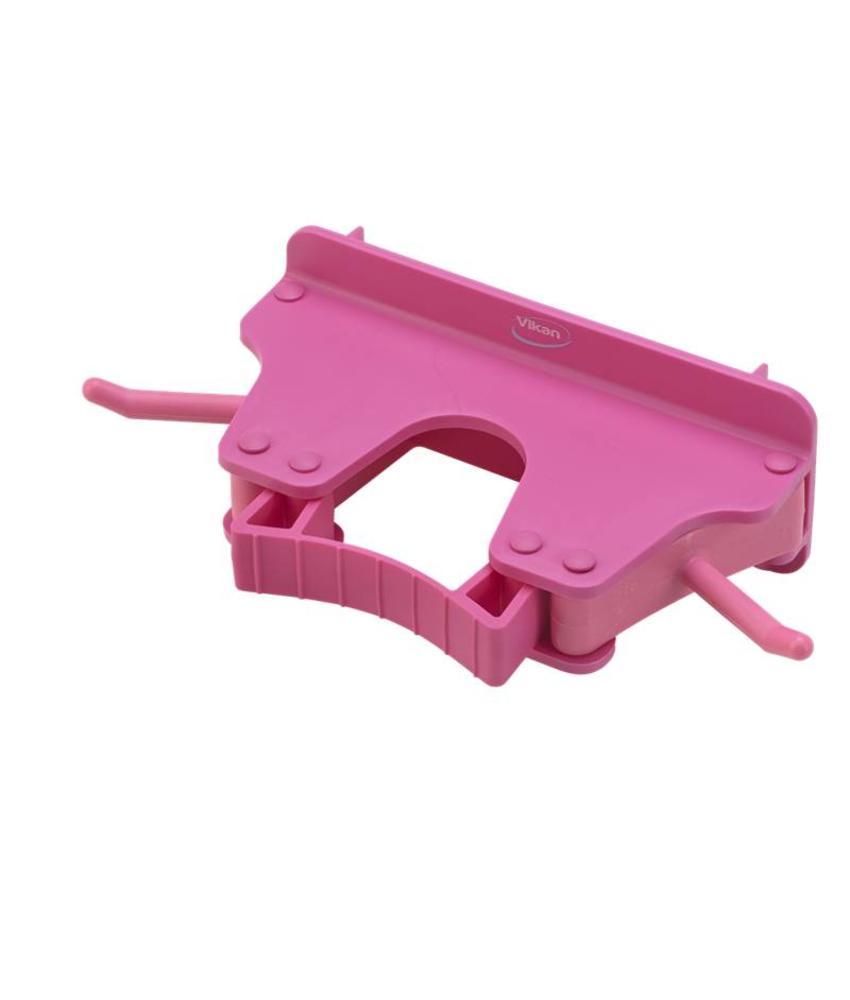 Vikan, Full colour ophangsysteem, 160x80x60mm, roze