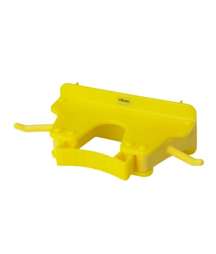 Vikan, Full colour ophangsysteem, 160x80x60mm, geel