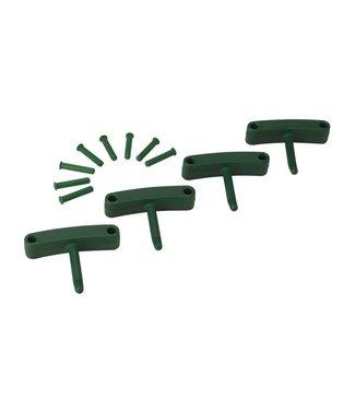 Vikan Vikan, Aanvulset haken voor full colour ophangsysteem, groen
