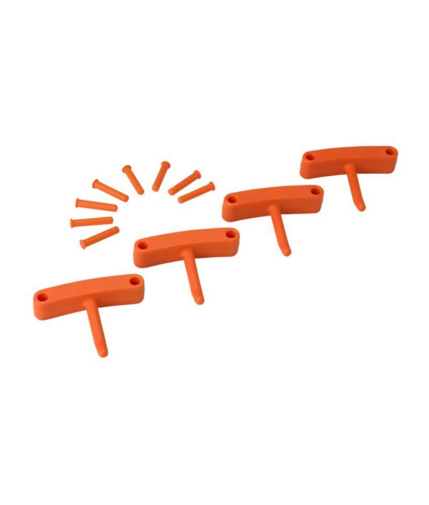 Vikan, Aanvulset haken voor full colour ophangsysteem, oranje