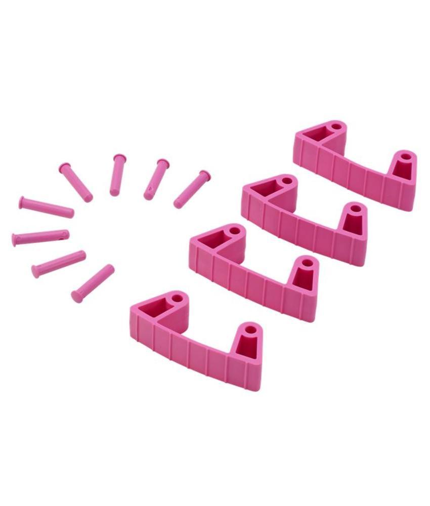 Vikan, Aanvulset klemmen voor full colour ophangsysteem, roze