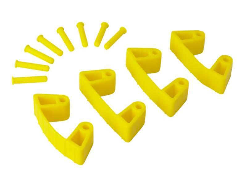 Vikan Vikan, Aanvulset klemmen voor full colour ophangsysteem, geel