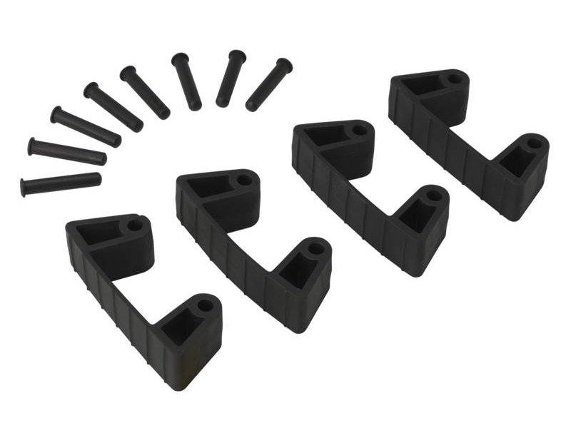 Vikan Vikan, Aanvulset klemmen voor full colour ophangsysteem, zwart