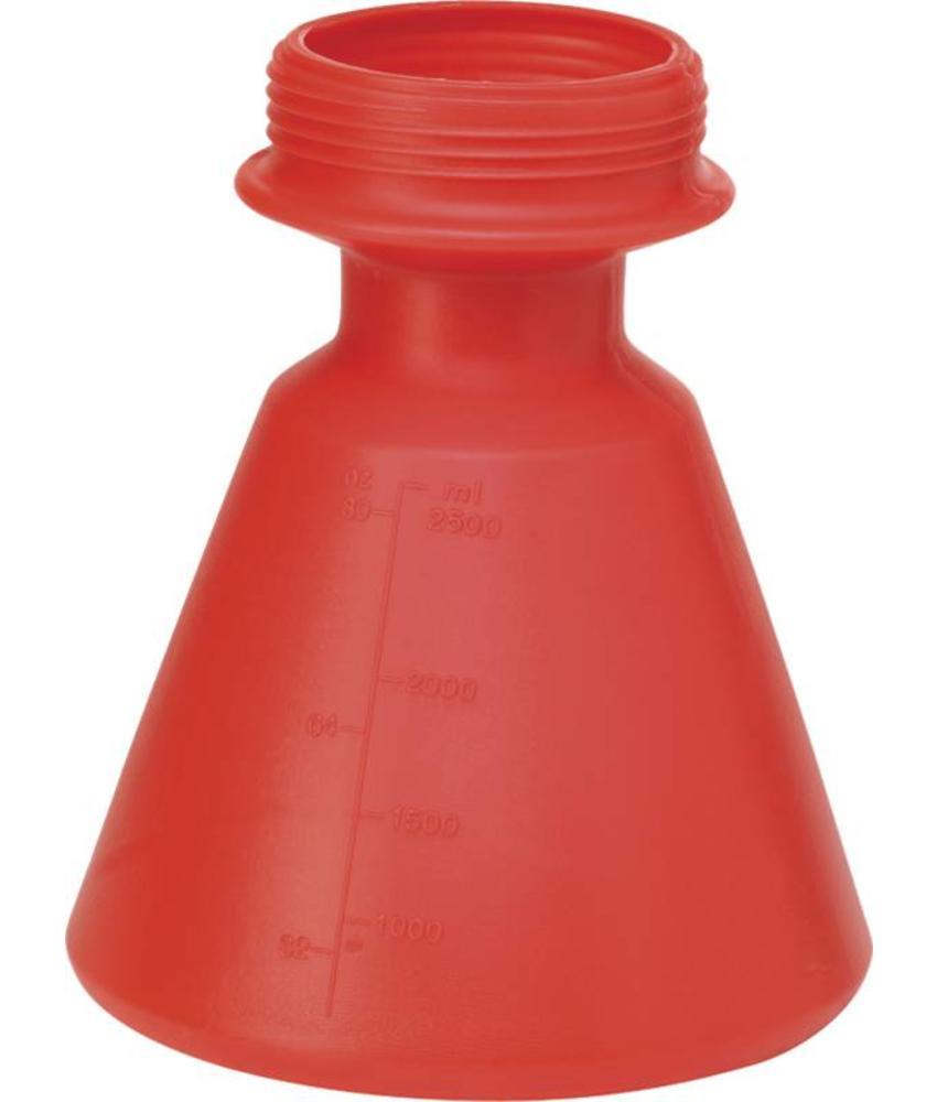 Vikan, Reserve can, 2,5 liter Foam Sprayer, rood