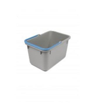 Numatic Numatic Grijze emmer 17 liter met blauwe hendel