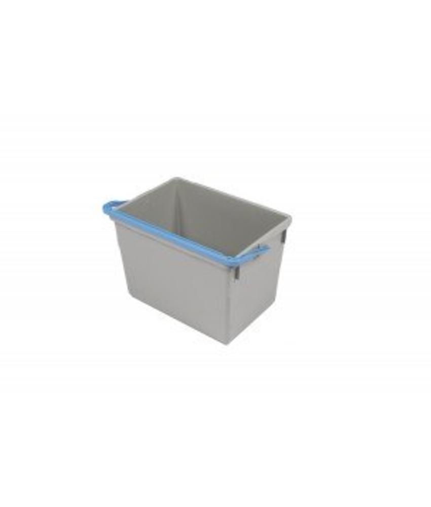 Numatic Grijze emmer 10 liter met blauwe hendel