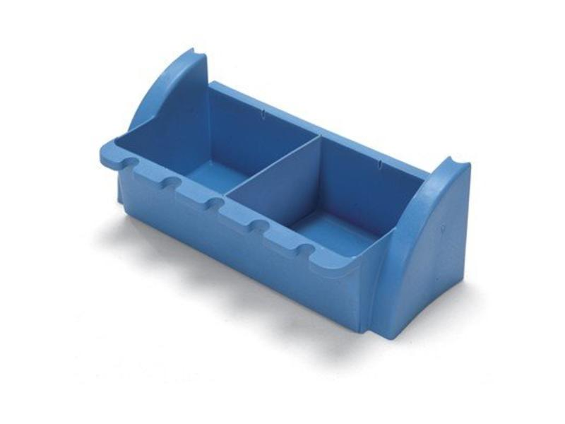 Numatic Numatic Tray smal blauw met bezeminkeping t.b.v. werkwagen XC 1