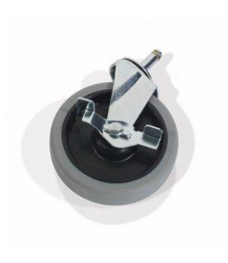 Numatic Numatic Zwenkwiel met Rem 125mm per stuk
