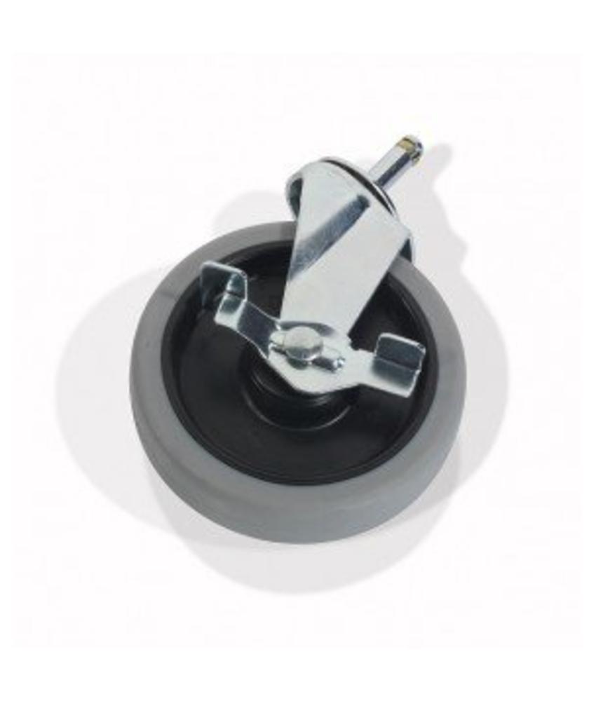 Numatic Zwenkwiel met Rem 125mm per stuk