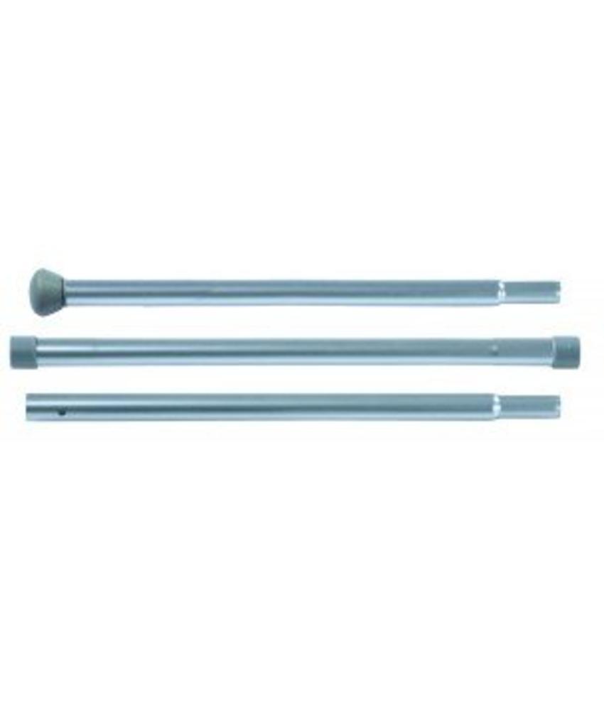 Numatic Mopsteel 3-delig aluminium excl. Comfortgrip