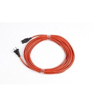 Numatic Numatic stofzuiger kabel oranje - 12,5 m 12.5m 1mm x 2 aderig PPR Plugged