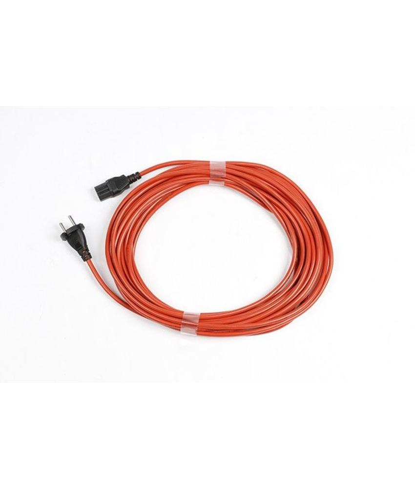Numatic stofzuiger kabel oranje - 12,5 m 12.5m 1mm x 2 aderig PPR Plugged