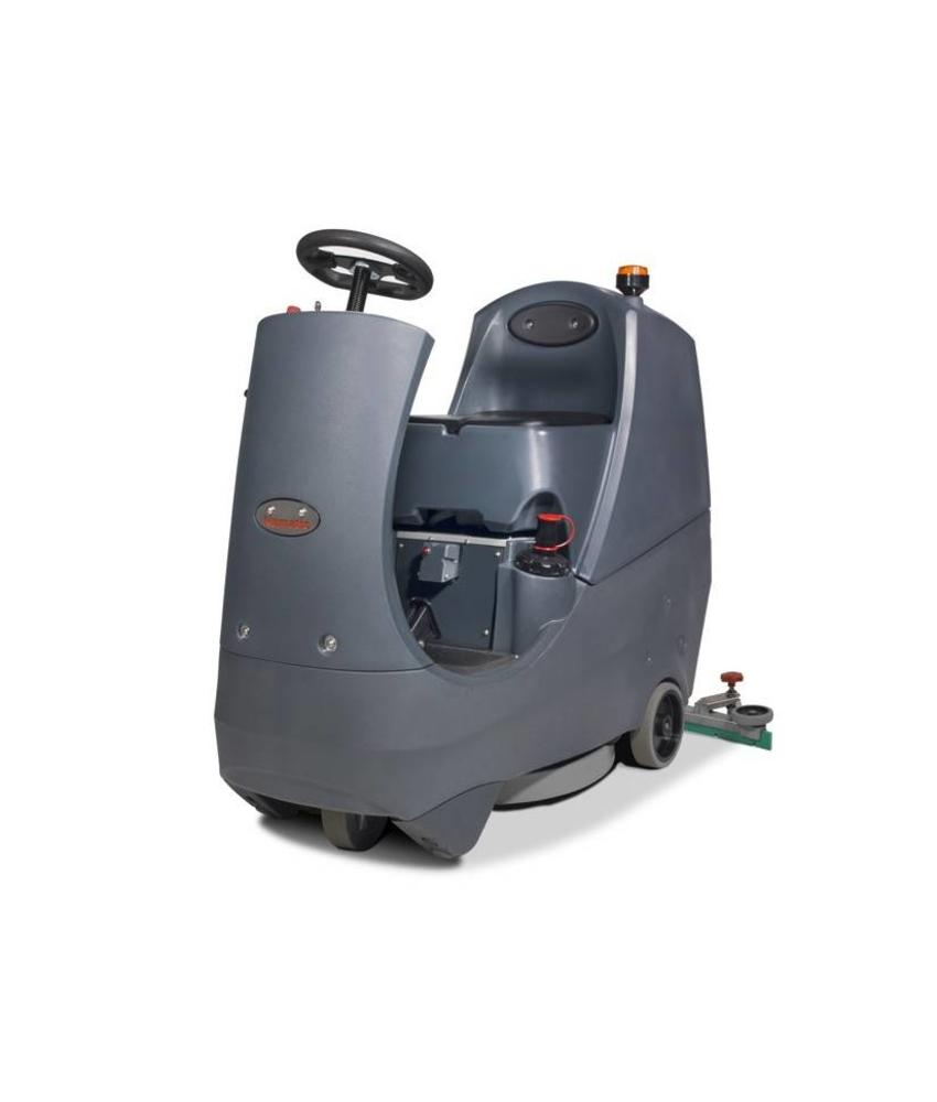 Numatic Twintec 'opzit' schrob-zuigmachine CRO-8055 120T grijs