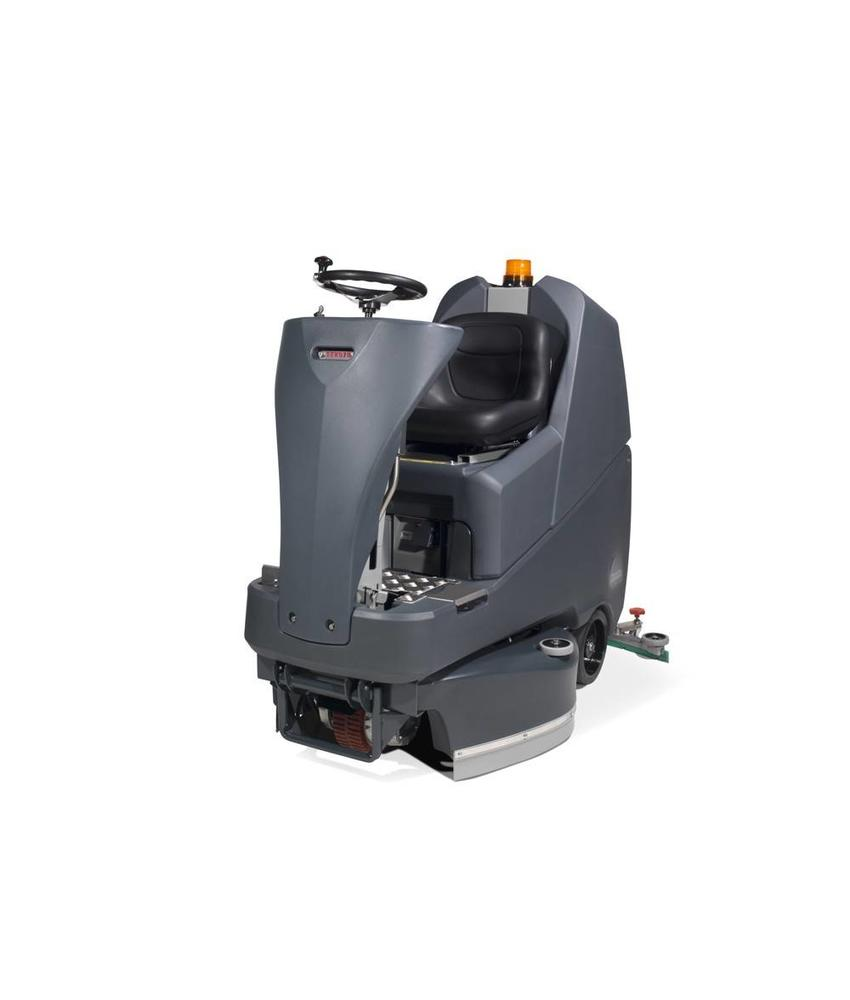 Numatic Schrob-zuigmachine TTV-678 G 24 Volt grijs