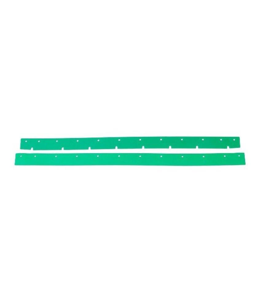 Numatic Rubbers polyurethaan groen (set) t.b.v. zuigmond 650 (werkbreedte 805mm)