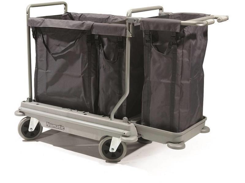 Numatic Numatic Wasgoedwagen NB 4003 grijs