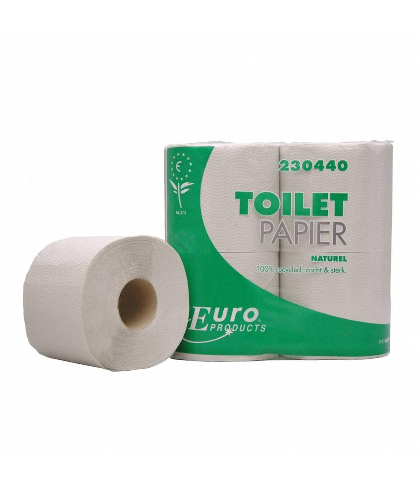 Euro Products Toiletpapier euro naturel, 1-laags