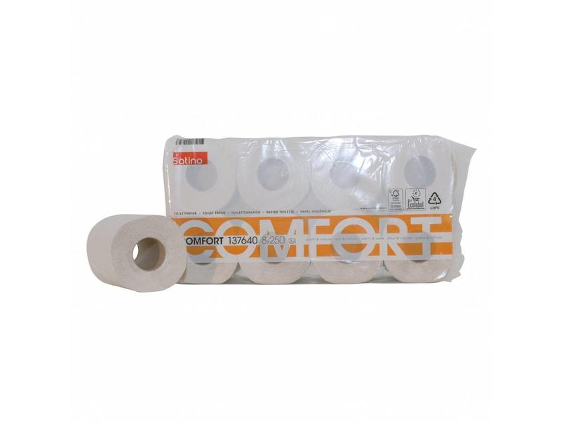 Euro Products Euro Products Toiletpapier recycled tissue euro, 2-laags