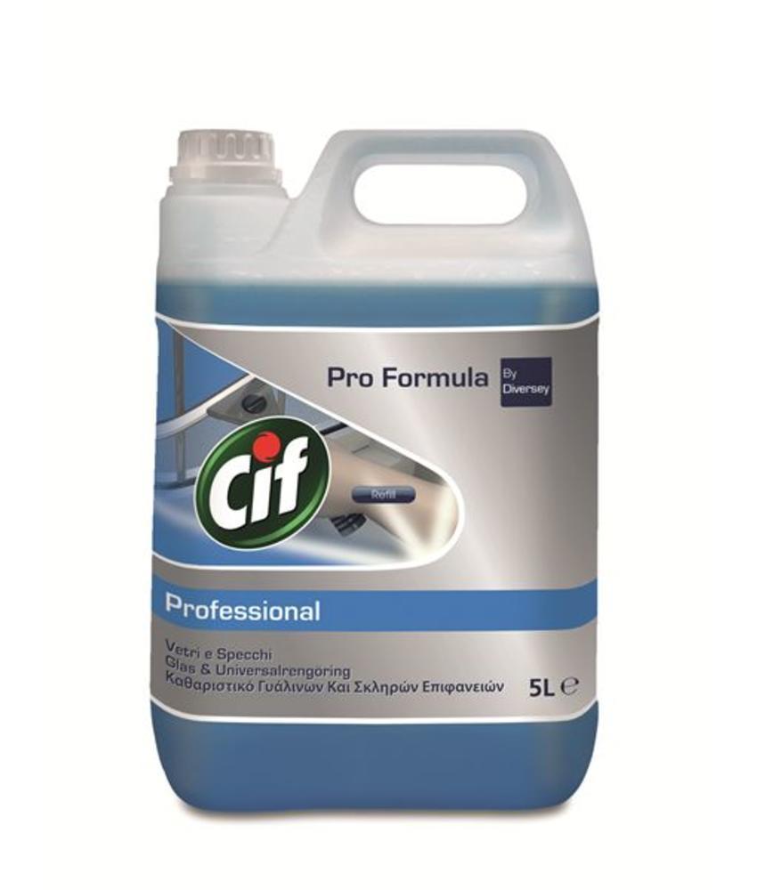 Cif Pro Formula Glas & Interieurreiniger 5 L