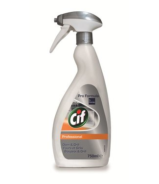 Johnson Diversey Cif Pro Formula Oven & Grill 750 ml