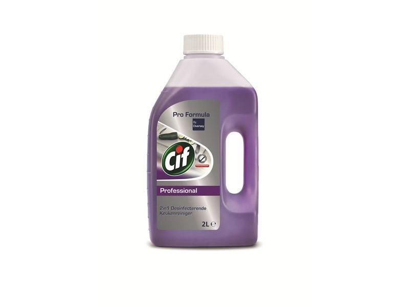 Johnson Diversey Cif Pro Formula 2in1 Desinfecterende Keukenreiniger 2 L