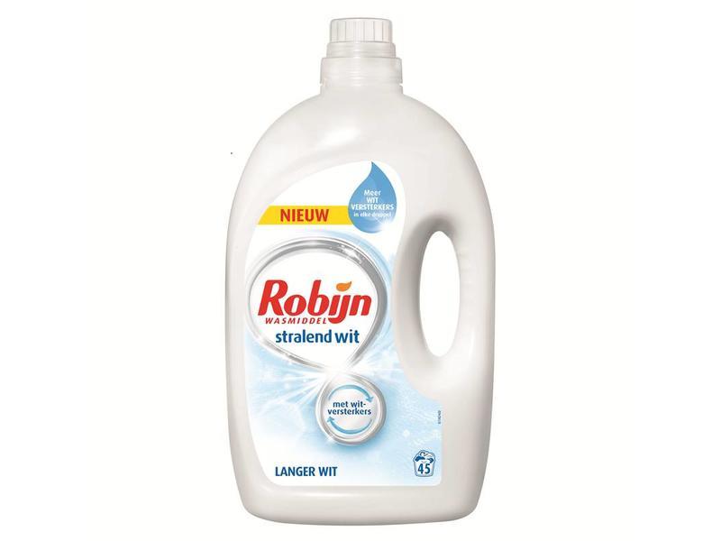 Johnson Diversey Robijn Vloeibaar Wasmiddel Wit 2.25 L / 45 wasbeurten