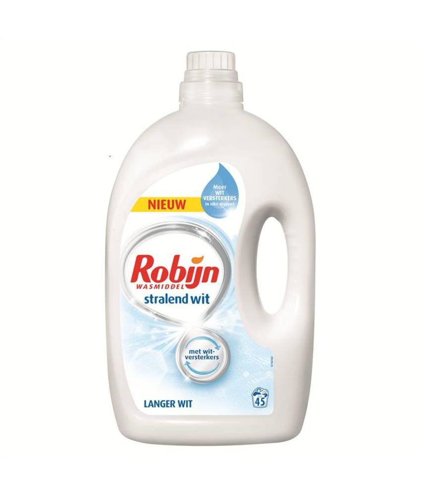Robijn Vloeibaar Wasmiddel Wit 2.25 L / 45 wasbeurten