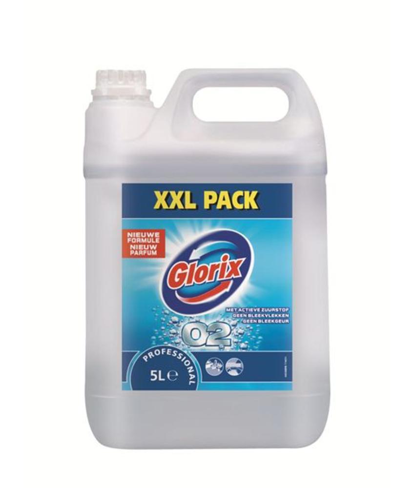 Glorix Prof. Toiletreiniger O2 (zonder chloor) 5L