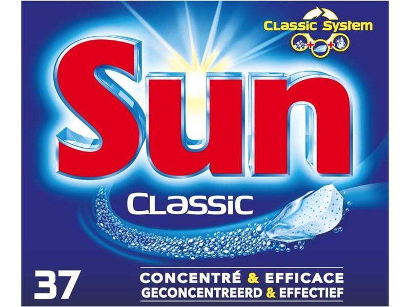 Johnson Diversey Sun Tabs Classic 37 st.