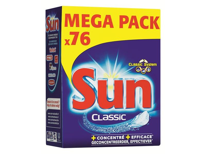Johnson Diversey Sun Tabletten Classic 76 st.