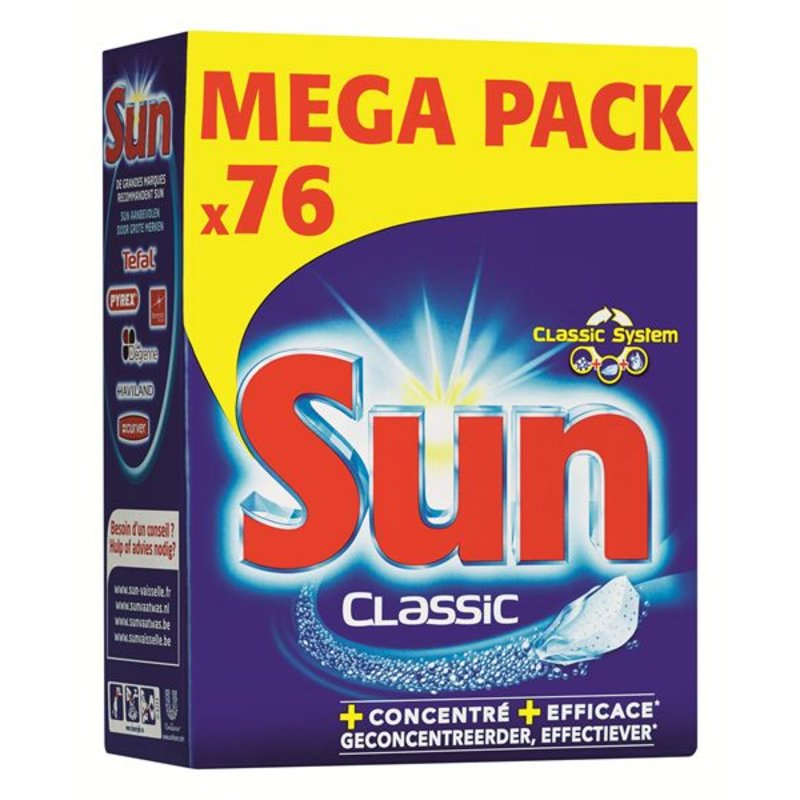 Sun Tabletten Classic 76 st.