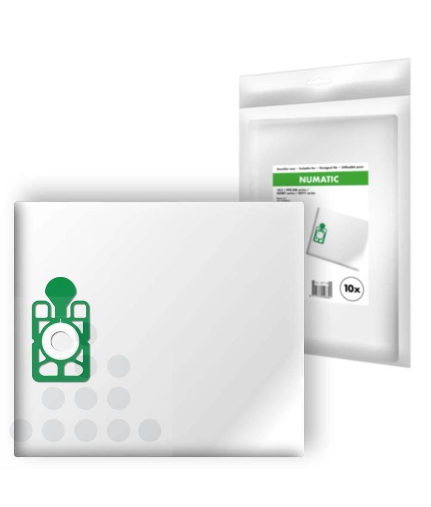 Stofzuigerzakken Numatic 1B/C filterplus - 10 stuks