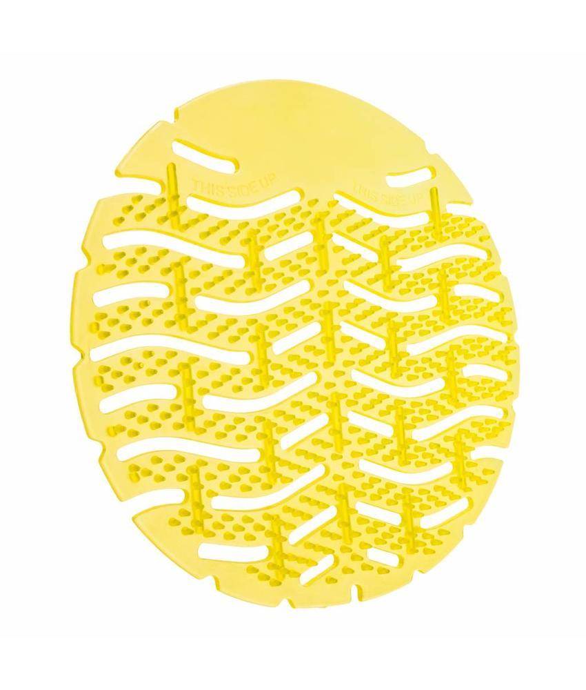 Urinoirmat geel 10 Stuks