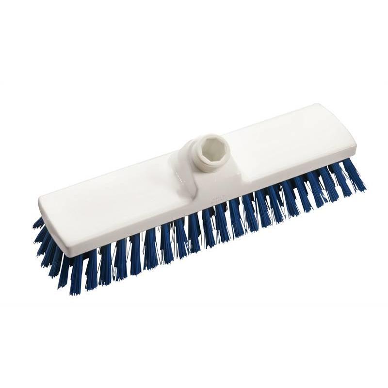 Vloerschrobber - hard 225 mm - blauw