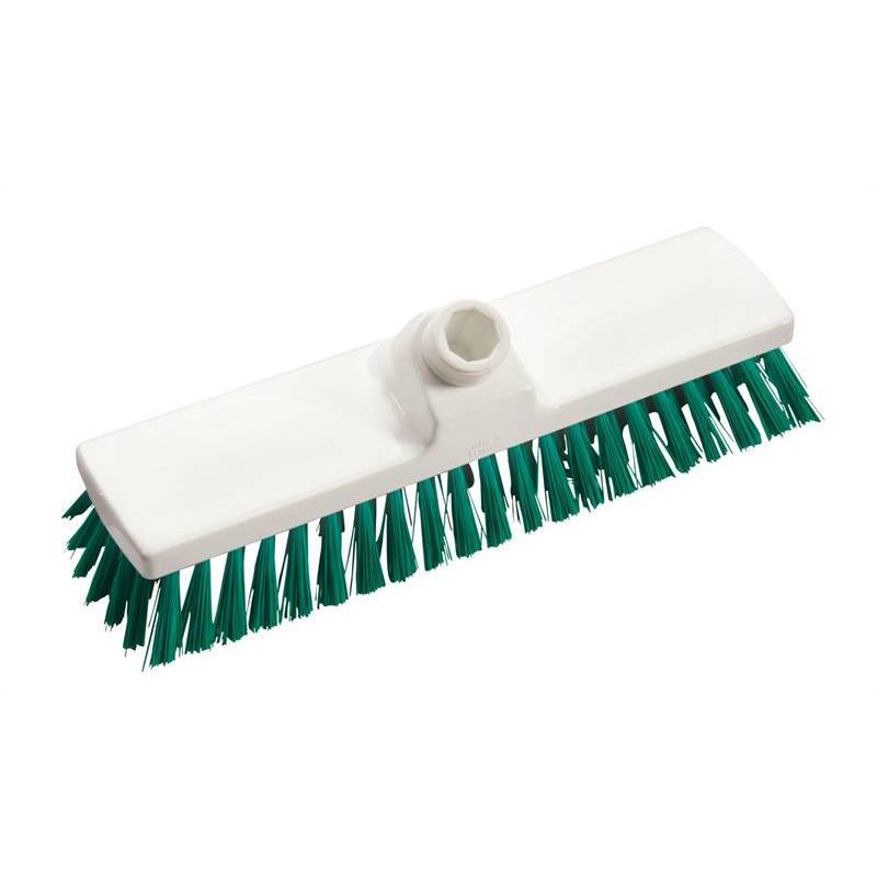 Vloerschrobber - hard 225 mm - groen