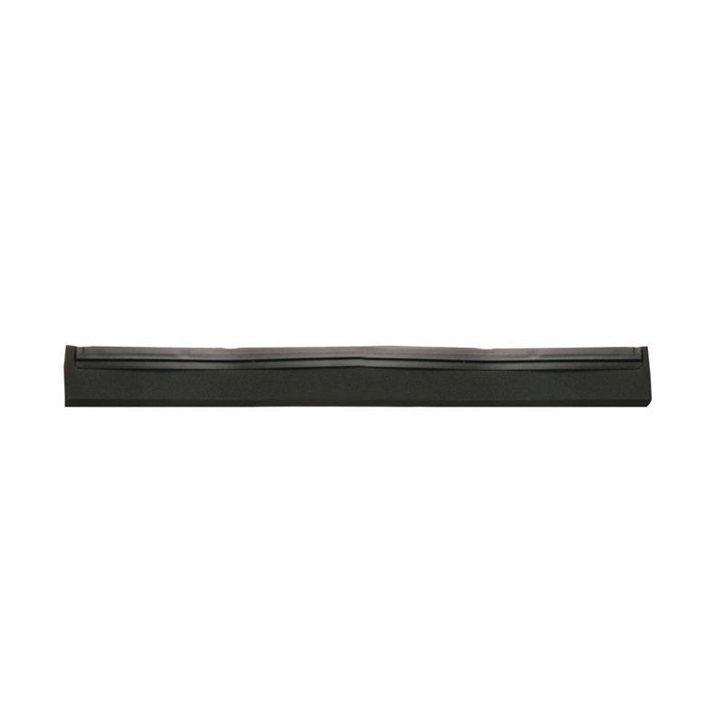 Vervangrubbers t.b.v. vloertrekkers - 400 mm, zwart rubber