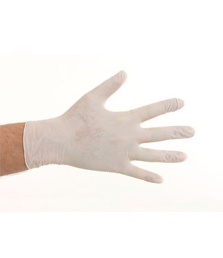 CMT Nitril handschoenen poedervrij - Wit