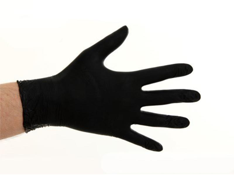 CMT Soft Nitril handschoenen poedervrij - Zwart
