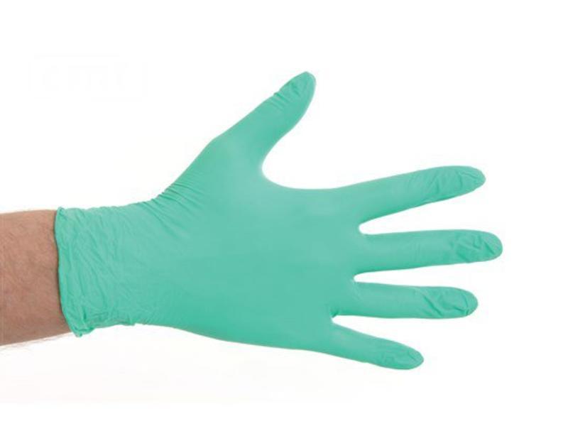 CMT Desinfectie Soft Nitril handschoenen poedervrij - Groen