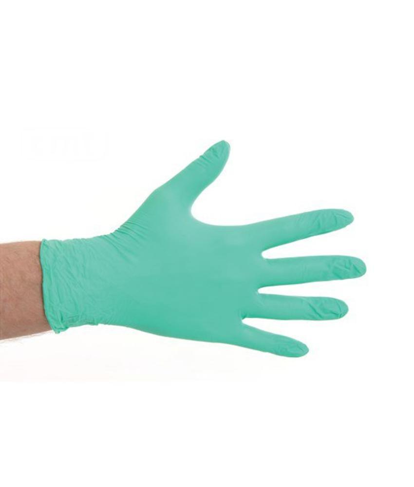 Soft Nitril handschoenen poedervrij - Groen