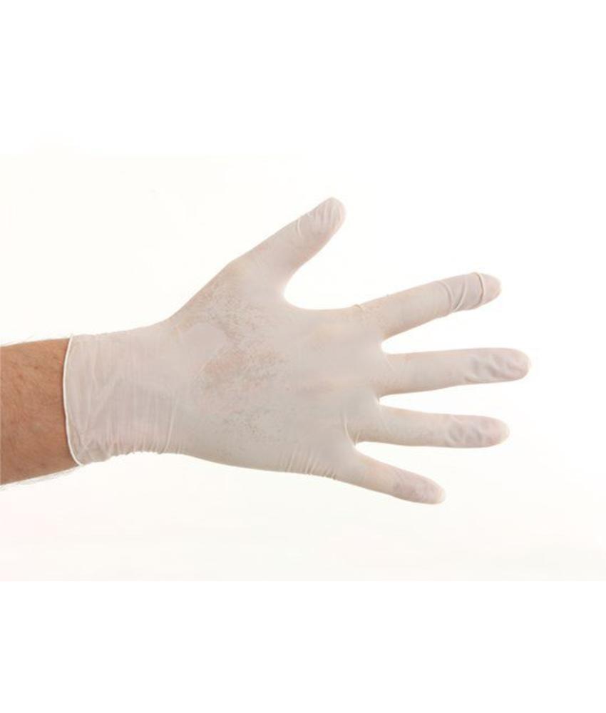 Soft Nitril handschoenen poedervrij - Wit