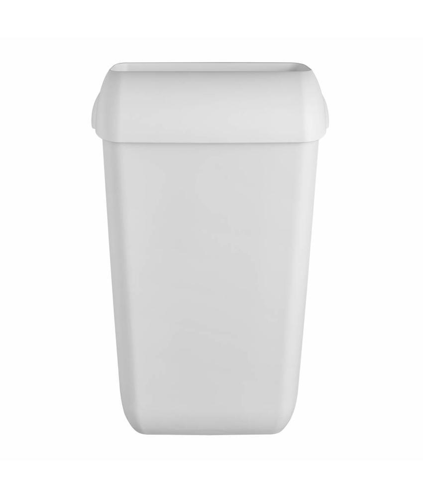 White Quartz afvalbak 23 ltr
