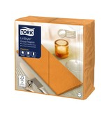 Tork Tork LinStyle® Dinnerservet 39x39cm  1/8-vouw 12x50 oranje