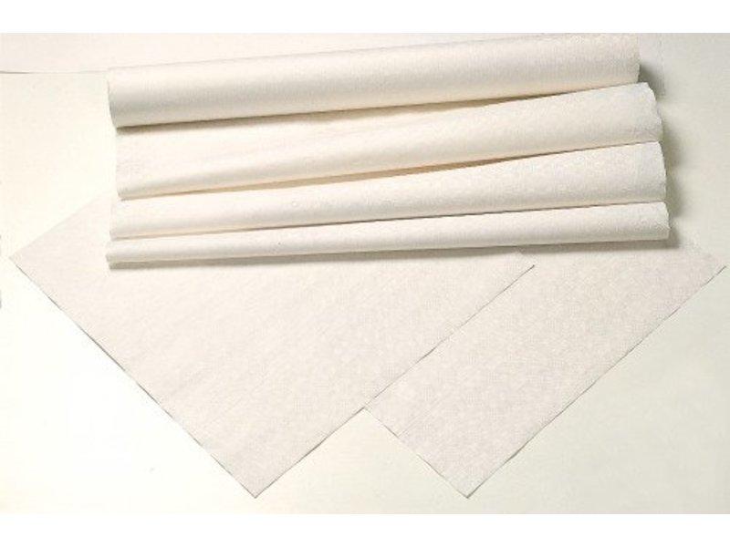 Tork Tork Damask Paper Napperon 80x80cm 1x250 wit