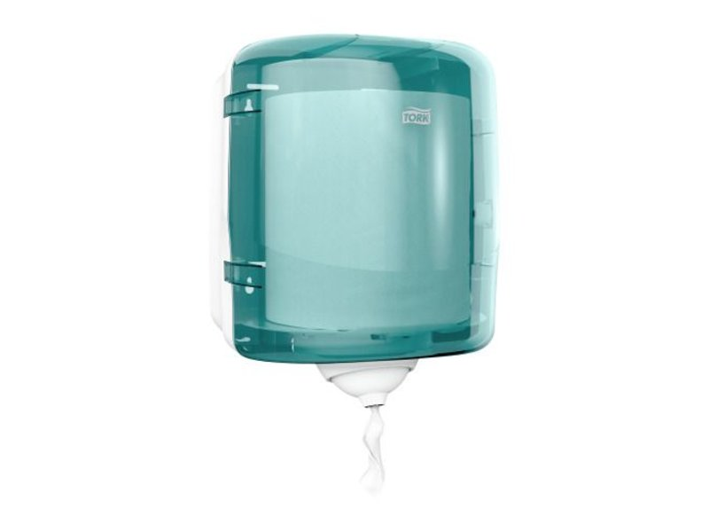 Tork Tork Reflex™ Centerfeed Poetspapier Dispenser Kunststof Turquoise M4