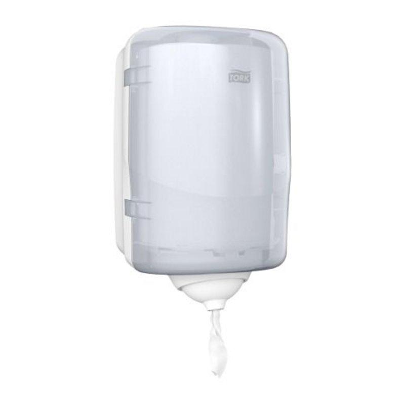 Tork Reflex™ Mini Centerfeed Poetspapier Dispenser Kunststof Wit M3