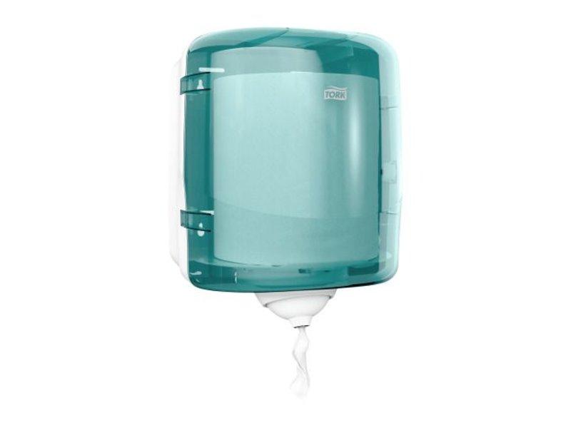 Tork Tork Reflex™ Mini Centerfeed Poetspapier Dispenser Kunststof Turquoise M3