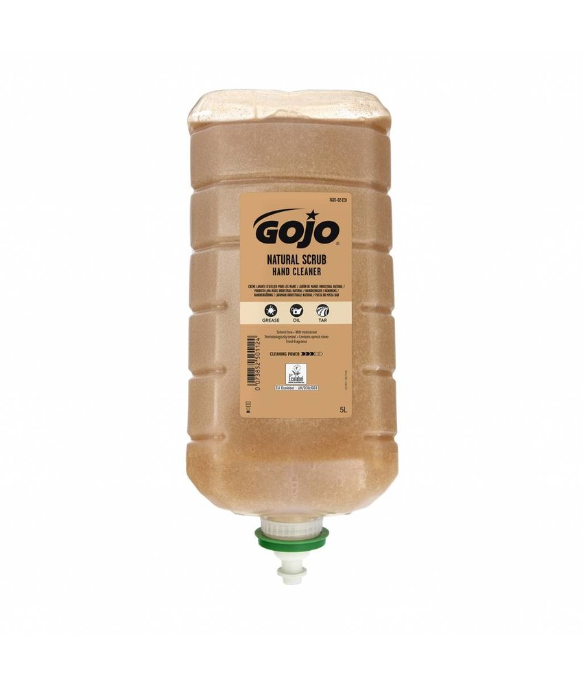 Euro Products Gojo natural scrub handcleaner - 5000ml
